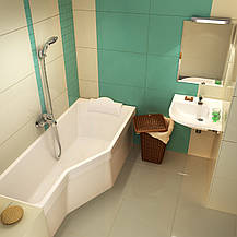 Ванна акриловая Ravak BeHappy 170х75 левосторонняя, фото 2