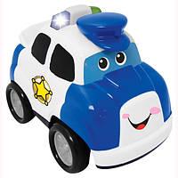 Развивающая игрушка - ПОЛИЦИЯ (на колесах, свет, звук)