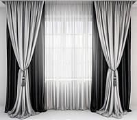 Шторы классические для гостинной,спальни ЦВЕТА В АССОРТИМЕНТЕ, фото 1
