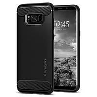 Чехол Spigen для Samsung Galaxy S8 Plus Rugged Armor, Black (571CS21661)