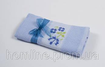 Рушник кухонне Lotus Life Блакитний 40*60