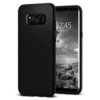 Чехол Spigen для Samsung Galaxy S8 Plus, Liquid Air, Black (571CS21663)