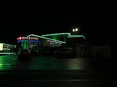 """Светодиодная гирлянда мерцающая """"ICICLE 108 LED"""" наружная 2*1(черный провод,зелёный цвет диода), фото 3"""