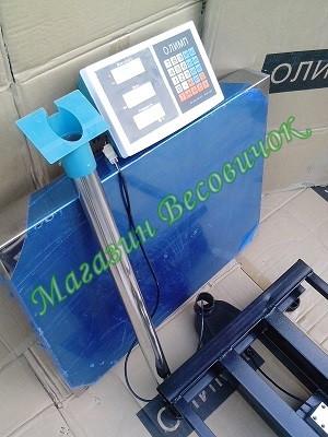 Комплектация товарных весов Олимп TCS-C 300кг