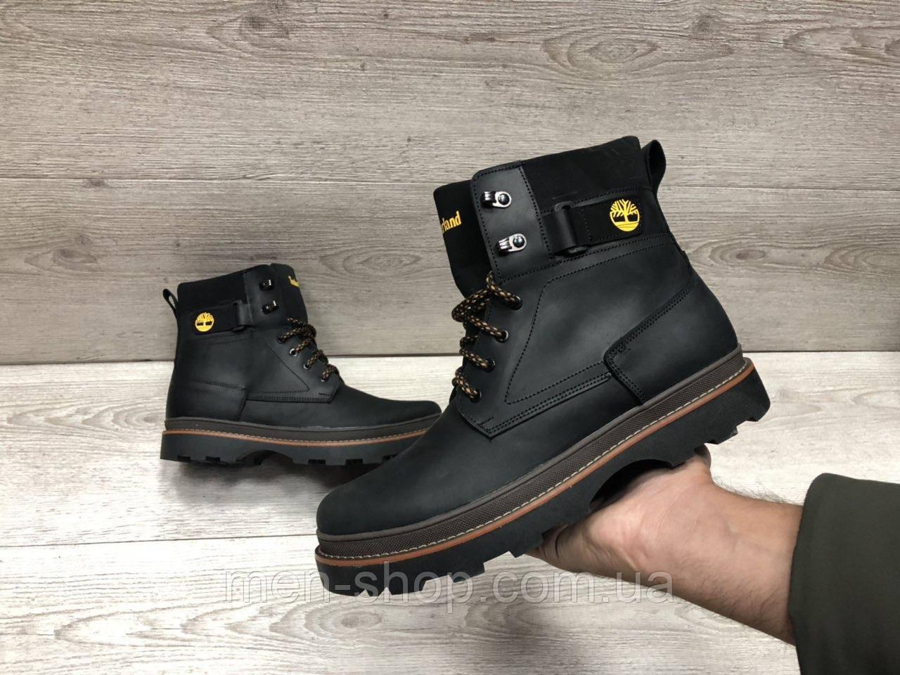 Зимние мужские ботинки в стиле Timberland, фото 1