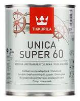Уретано-алкидный лак Tikkurila Unica Super 60 (полуглянец) 0,9 л