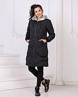 Женская зимняя куртка на холлофайбере