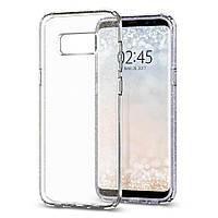 Чехол Spigen для Samsung Galaxy S8 Plus Liquid Crystal Glitter, Crystal Quartz (571CS21669)
