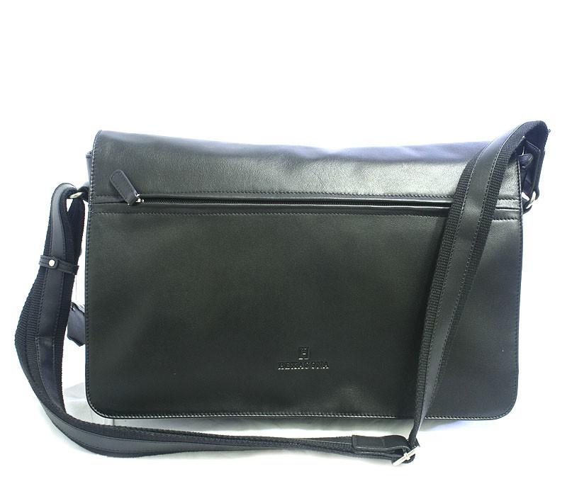 Кожаная сумка почтальон для мужчин через плечо