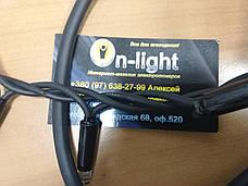 Светодиодная наружная гирлянда DELUX STRING 200LED 20m IP44 EN (черный провод,белый цвет диода), фото 3