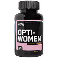 Витамины Optimum Nutrition Opti Women, 60 caps , фото 1