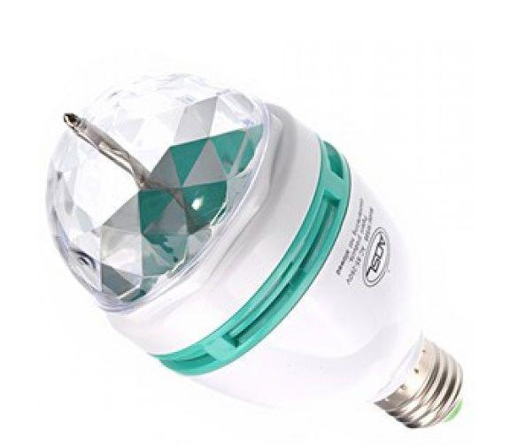 Диско лампа, вращающая лампа,