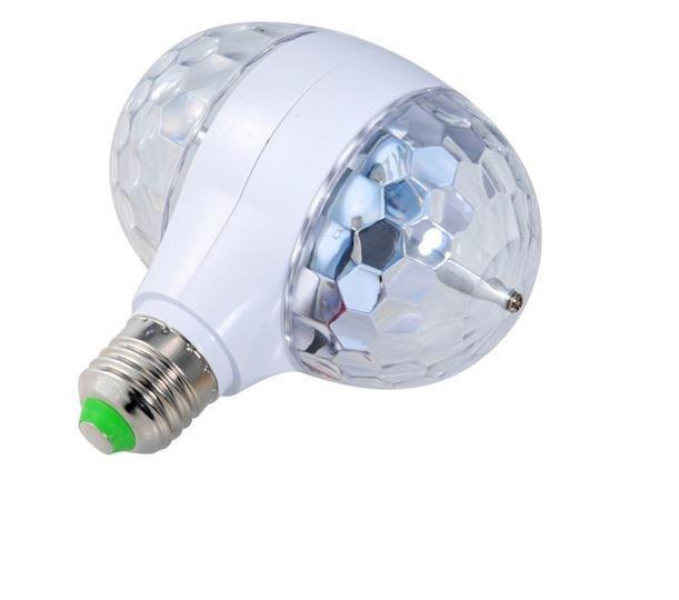 Диско лампа,  вращающая лампа, двойная, фото 1