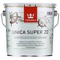 Уретано-алкидный лак Tikkurila Unica Super 20 (полумат) 2,7 л