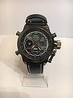 Мужские наручные часы AMST, черный антрацит ( код: IBW091B )