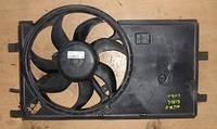 Вентилятор радиатора 7 лопастей с диффузором Peugeot Bipper  20081.3hdi 51805807
