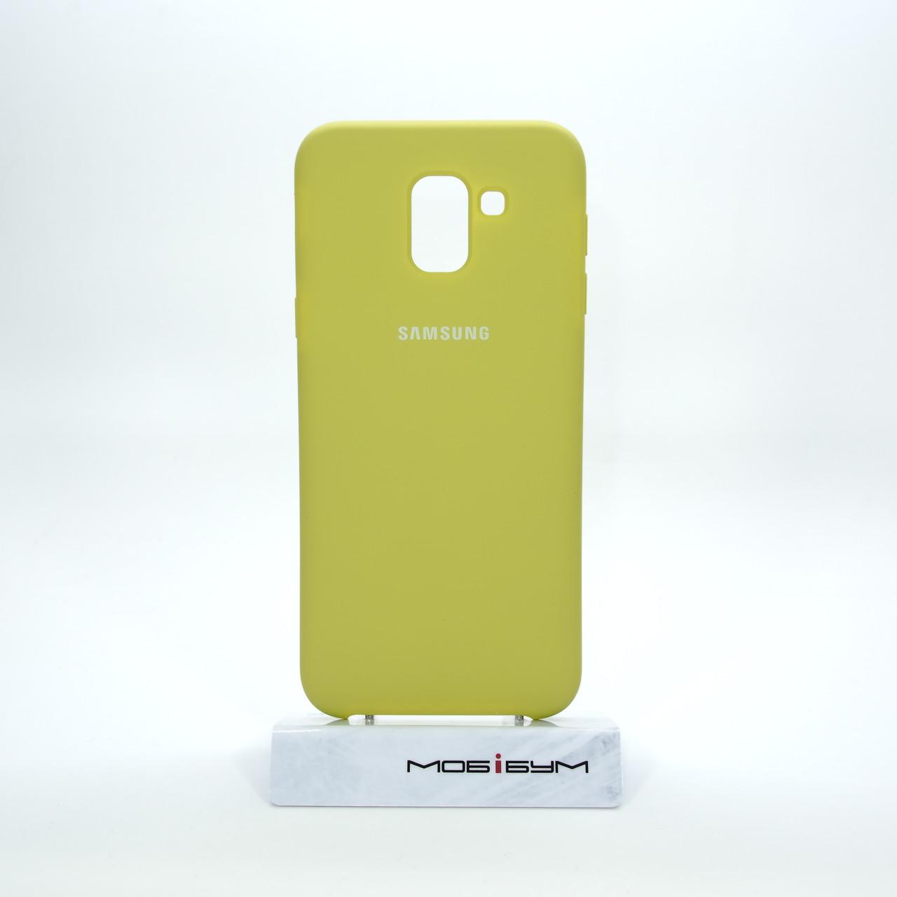 Чехол Original Soft Samsung Galaxy J600 lite green