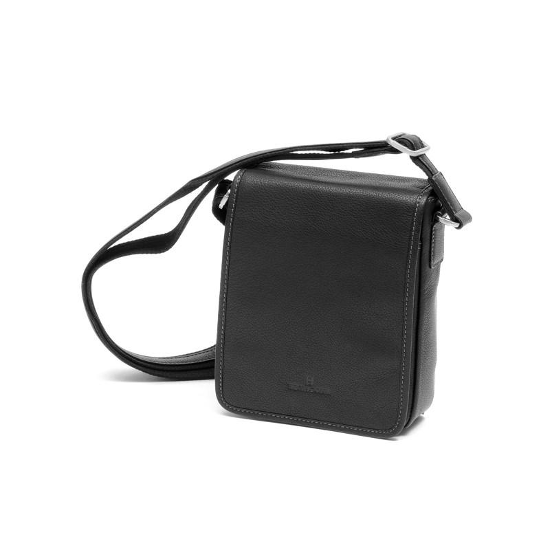 Мужская кожаная сумка сделана во Франции