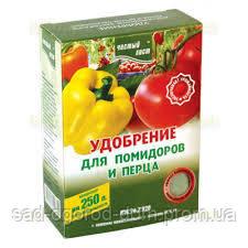 """Удобрение """"чистый лист"""" для томатов и перца, 300г"""