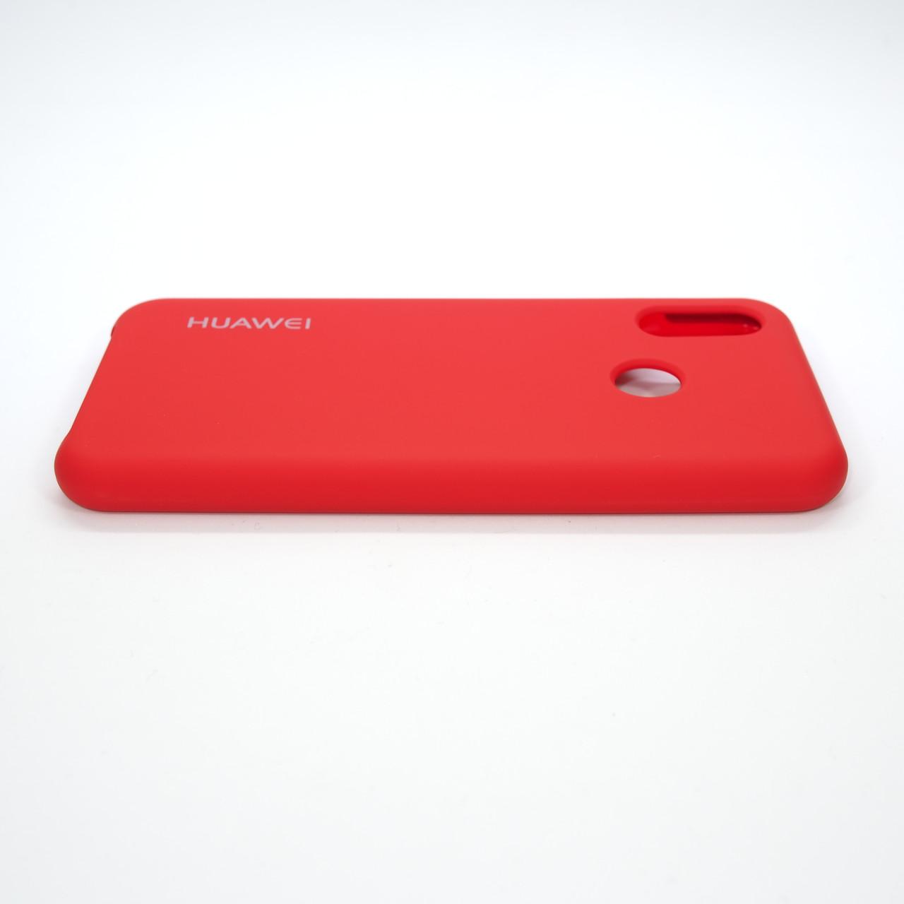 Чехол Original Soft Huawei P20 Lite red