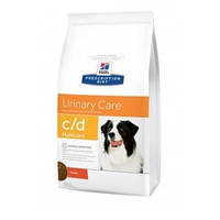 Hills (Хиллс) Prescription Diet c/d Multicare Urinary Care корм для собак с курицей, 5кг