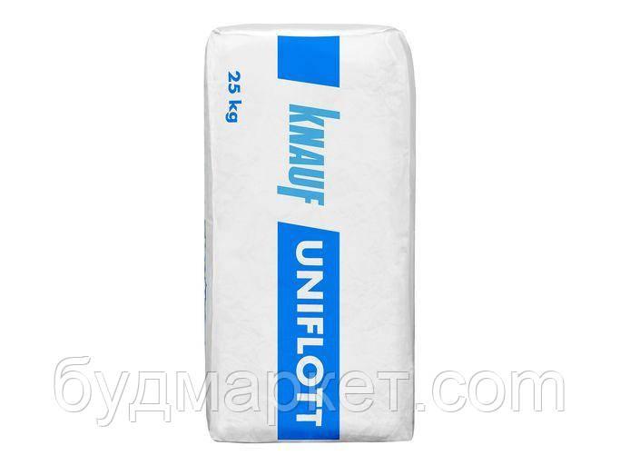 Шпаклевка uniflot Knauf  25 кг (паллета 42шт)