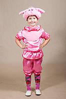 Дитячий костюм Хрюша для хлопчиків 5,6,7,8 років Карнавальний костюм Порося 342