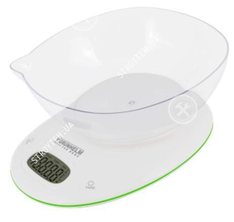 Весы кухонные Grunhelm KES-1PG с чашей