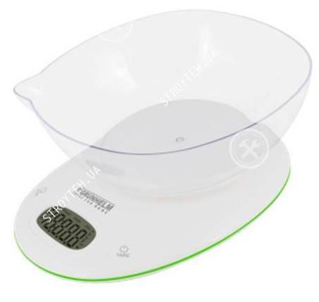Весы кухонные Grunhelm KES-1PG с чашей, фото 2