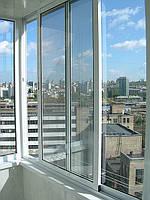 Алюмінієві розсувні системи. Балкони