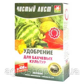 """Удобрение """"чистый лист"""" для бахчевых, 300г"""
