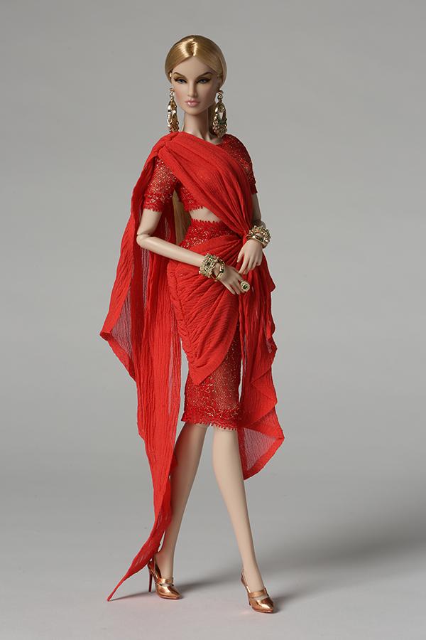 Коллекционная кукла Integrity Toys 2018 Fashion Royalty Tatyana Alexandrova - Goddess