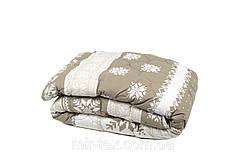 Одеяло шерстяное стеганое зимнее 140х205
