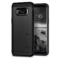 Чехол Spigen для Samsung S8 Plus Tough Armor, Black , фото 1