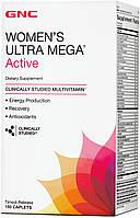 Витамины GNC Women's Ultra Mega Active, 180  tabl