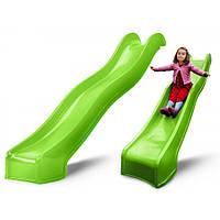 Садовая детская горка Swing King Light Green 3м Нидерланды)