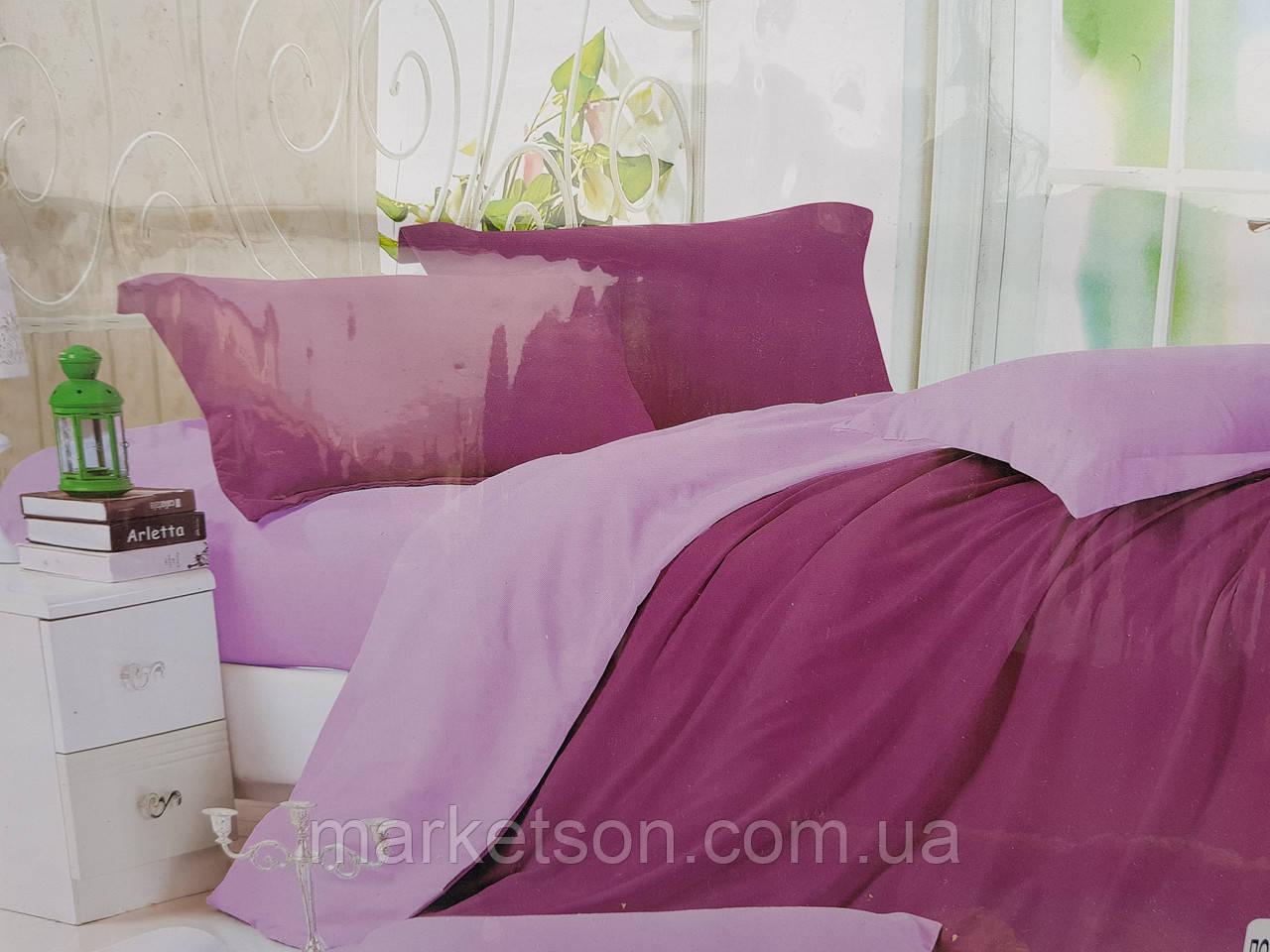 Двухспальное постельное белье 180*220.Сатин. Подарочная упаковка.