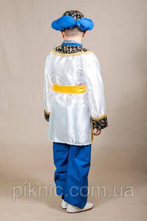 Костюм Султан 6,7,8,9,10,11 лет Детский новогодний карнавальный маскарадный костюм для мальчиков 344, фото 2