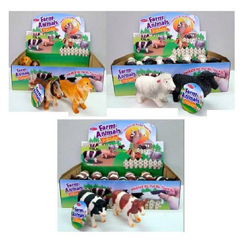 """Набор животных A151CDS-DB """"Farm animals"""", 11 см, 12 шт. в упаковке (Y), фото 2"""