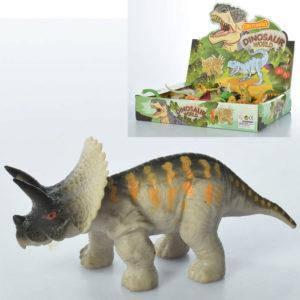 Динозавр A130-DB, от 10 см, 48 шт. (12 видов) в упаковке (Y), фото 2