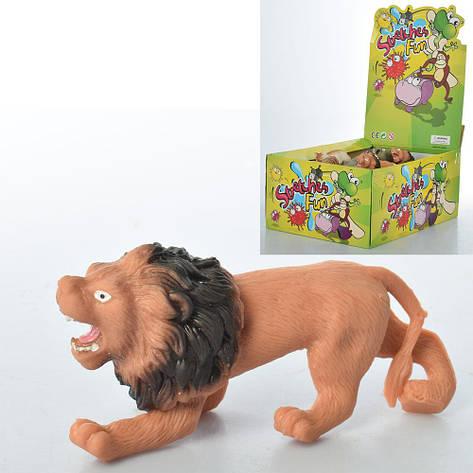 Набор животных A111-DB, от 10 см, дикие, 48 шт. (12 видов) в упаковке (Y), фото 2