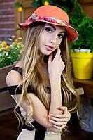 Шляпа-панама «Мелиса» (оранжевый)