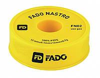 Фум-лента для газа FADO 19мм*0.25мм*15м*0.3г