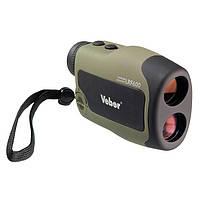 Лазерный дальномер Veber 6x25 LRF600 green, фото 1