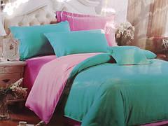 Полуторные комплекты однотонного постельного белья. Сатин