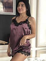 Піжама жіноча з красивим мереживом