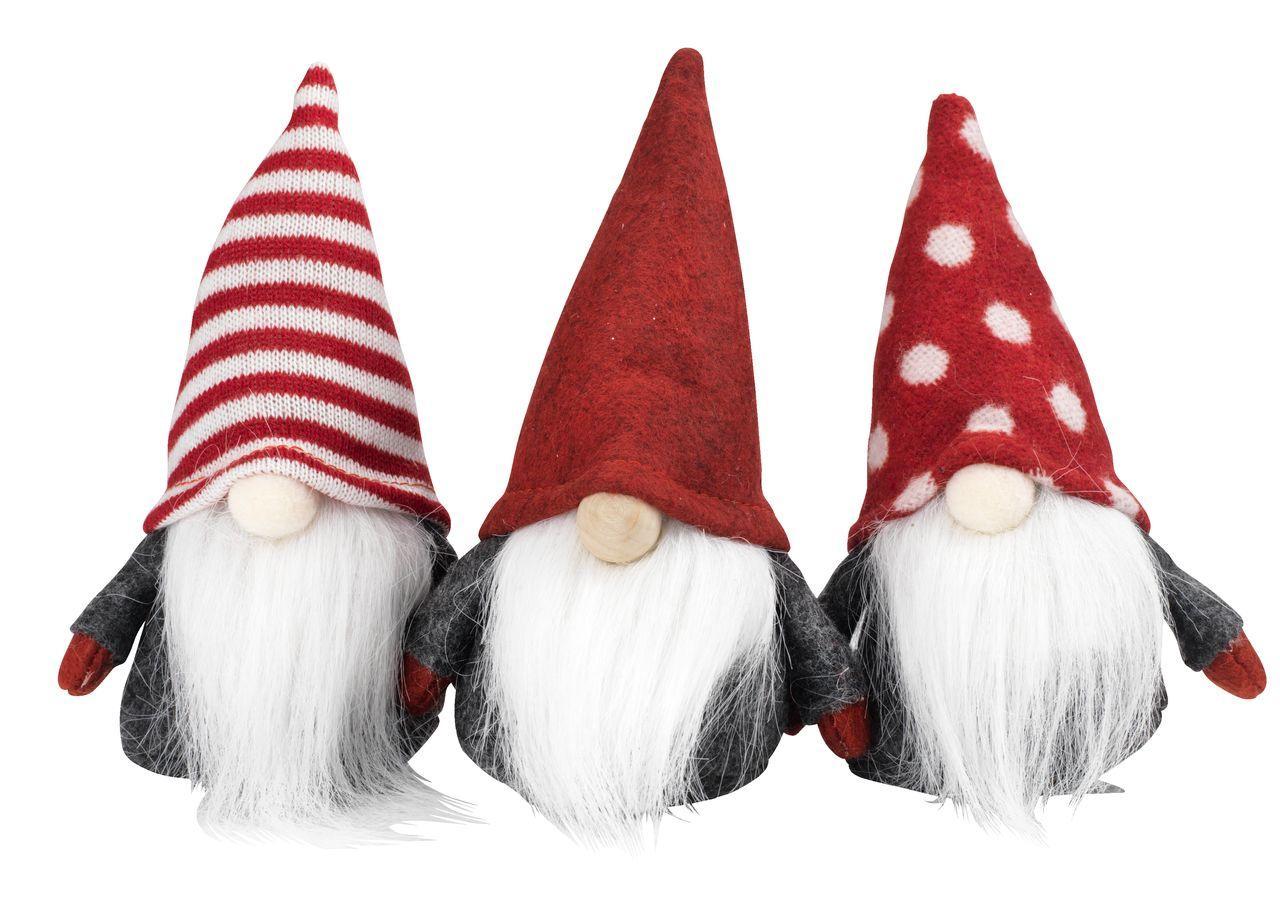 Санта Клаус Дед Мороз новогодняя игрушка под ёлку высота 13 см