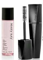 Набор, средство для снятия макияжа, тушь Lash Intensity, косметика Mary Kay, мери , фото 1