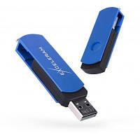 USB флеш накопитель eXceleram 16GB P2 Series Blue/Black USB 2.0 (EXP2U2BLB16)