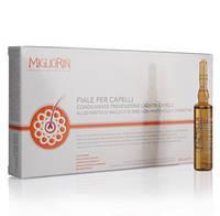 Ампулы для интенсивного лечения и укрепления волос серии Миглиорин/Migliorin
